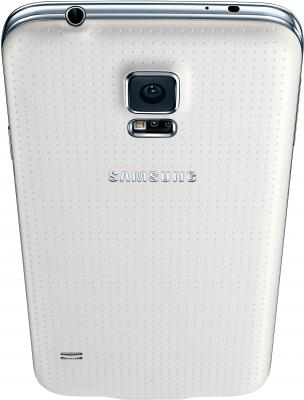 Смартфон Samsung Galaxy S5 G900H (16GB, White) - вид сверху