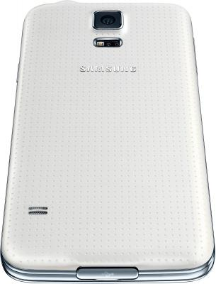 Смартфон Samsung Galaxy S5 G900H (16GB, White) - вид снизу