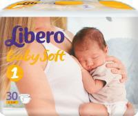 Подгузники Libero Baby Soft Newborn 1 (30шт) -