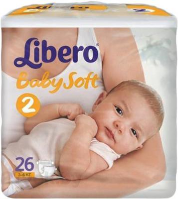 Подгузники Libero Baby Soft 2 (26шт) - общий вид