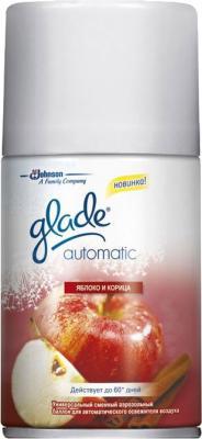Сменный флакон освежителя воздуха Glade Automatic Яблоко и корица (269мл) - общий вид