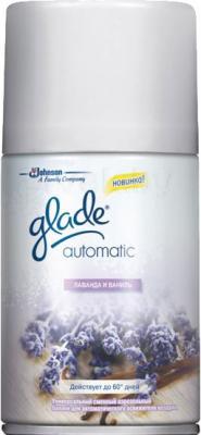 Сменный флакон освежителя воздуха Glade Automatic Лаванда и ваниль (269мл) - общий вид