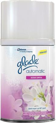 Сменный флакон освежителя воздуха Glade Automatic Белая сирень (175г) - общий вид