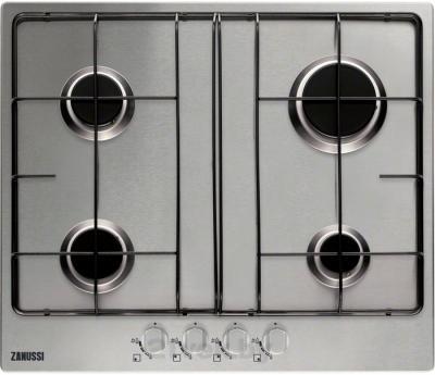 Газовая варочная панель Zanussi ZGG65413SA - общий вид
