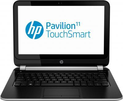 Ноутбук HP Pavilion TouchSmart 11-e100sr (F5B63EA) - фронтальный вид