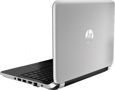 Ноутбук HP Pavilion TouchSmart 11-e100sr (F5B63EA) - вид сзади