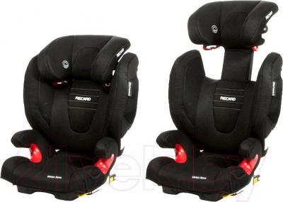 Автокресло Recaro Monza Nova 2 Seatfix (черный) - регулировка