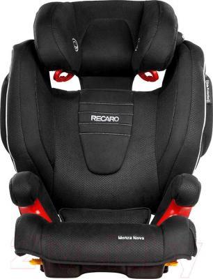 Автокресло Recaro Monza Nova 2 Seatfix (черный) - общий вид