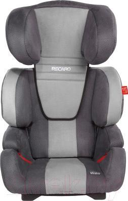 Автокресло Recaro Milano (серый) - общий вид