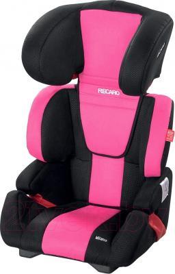 Автокресло Recaro Milano (розовый) - общий вид