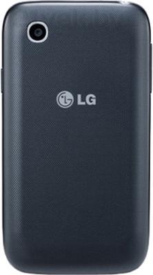 Смартфон LG L40 D170 (Black) - задняя панель