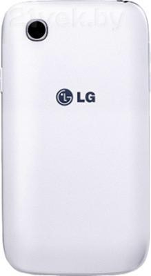 Смартфон LG L40 D170 (White) - задняя панель