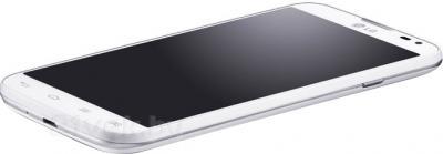 Смартфон LG L70 / D325 (белый) - вид лежа