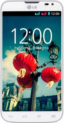 Смартфон LG L70 / D325 (белый) - общий вид