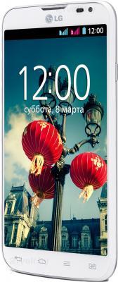 Смартфон LG L70 / D325 (белый) - полубоком