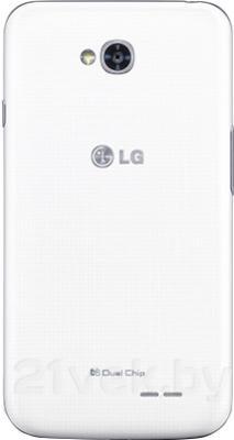Смартфон LG L70 / D325 (белый) - задняя панель