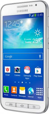 Смартфон Samsung I8580 Galaxy Core Advance (White) - полубоком