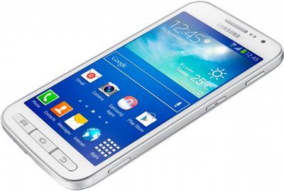 Смартфон Samsung I8580 Galaxy Core Advance (White) - вид лежа