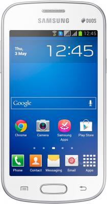 Смартфон Samsung S7392 Galaxy Trend Duos (White) - общий вид