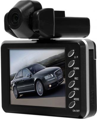 Автомобильный видеорегистратор Видеосвидетель 2401 HD 2CH - дисплей