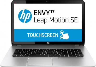 Ноутбук HP ENVY 17-j102sr (F2U36EA) - фронтальный вид