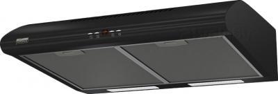 Вытяжка плоская KRONAsteel LUCI 600 3P (Black) - общий вид