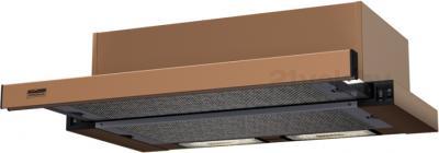 Вытяжка телескопическая KRONAsteel Kamilla 60 (коричневый) - общий вид