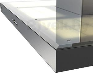 Вытяжка Т-образная KRONAsteel Stella Smart 600 Light Glass 5P - лампы