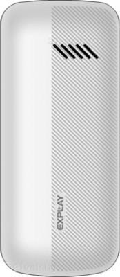Мобильный телефон Explay Primo 2.4 (White-Orange) - задняя панель