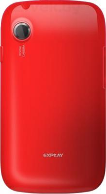 Смартфон Explay N1 (Red) - задняя панель