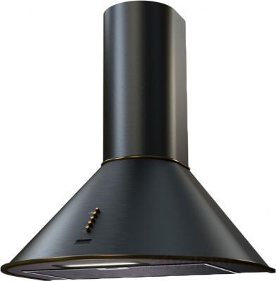 Вытяжка купольная KRONAsteel Diana 60 (черный/золотой, кнопки) - общий вид