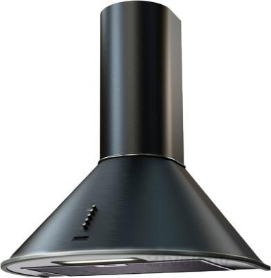 Вытяжка купольная KRONAsteel Diana 60 (черный/нержавейка, кнопки) - общий вид