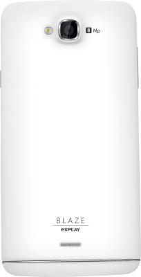 Смартфон Explay Blaze (белый) - задняя панель