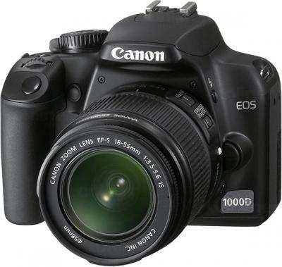 Зеркальный фотоаппарат Canon EOS 1100D Kit 18-55mm + 75-300mm - общий вид
