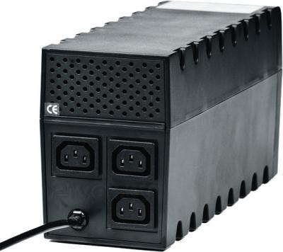 ИБП Powercom Raptor RPT-1000A - вид сзади