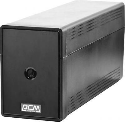 ИБП Powercom Phantom Black PTM-850A - общий вид