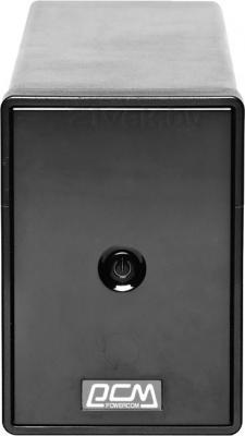 ИБП Powercom Phantom Black PTM-850A - вид спереди