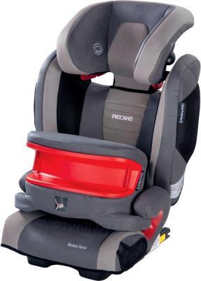 Автокресло Recaro Monza Nova Seatfix IS (серый) - съемный бампер