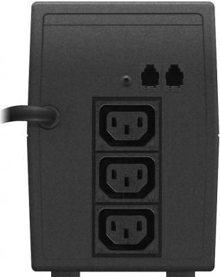 ИБП Ippon Back Power PRO 600N - вид сзади