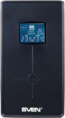 ИБП Sven Power Pro+ 1000 - вид спереди