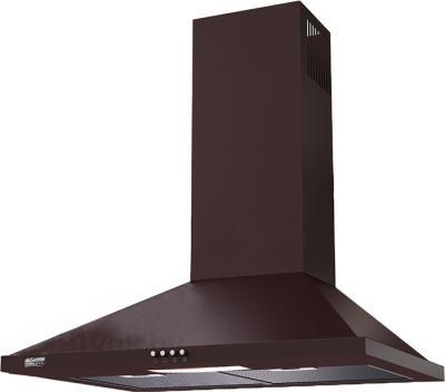 Вытяжка купольная KRONAsteel Bella 50 (коричневый, кнопочное управление) - общий вид