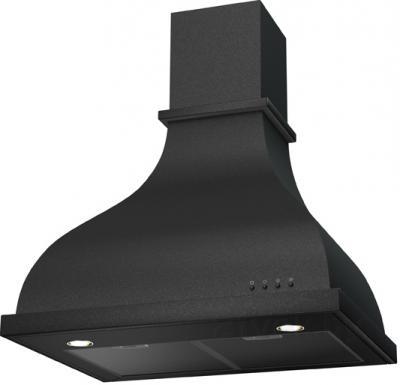 Вытяжка купольная KRONAsteel Alisa Electronic 60 (черный) - общий вид