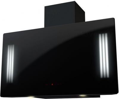 Вытяжка декоративная KRONAsteel Naomi Mirror 900 5P-S (Black) - общий вид
