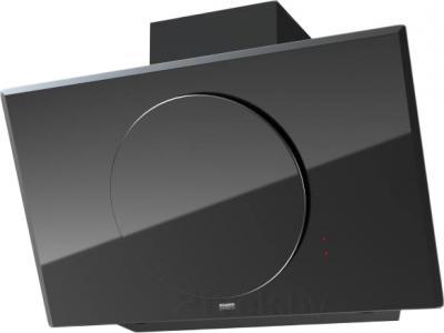 Вытяжка декоративная KRONAsteel Grace 90 3P-S (черный) - общий вид