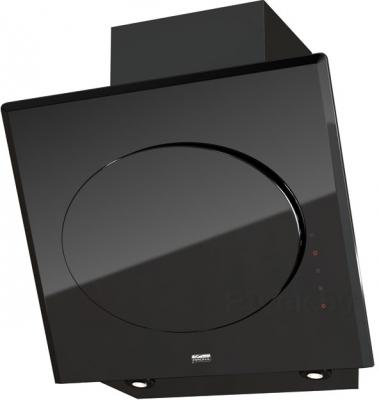 Вытяжка декоративная KRONAsteel Futuro 600 3P-S (Black) - общий вид