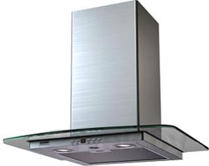 Вытяжка Т-образная KRONAsteel Jasmin Smart 600 5P (Inox Glass) - общий вид