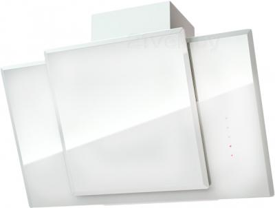 Вытяжка декоративная KRONAsteel Natali 90 3P-S (белый) - общий вид