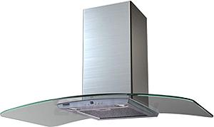 Вытяжка купольная KRONAsteel SCARLETT Slim 5P 900 (Inox Glass) - общий вид