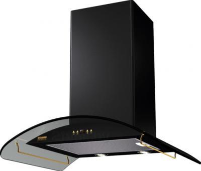 Вытяжка купольная KRONAsteel Sharlotta 600 3P (Black-Dark Glass) - общий вид