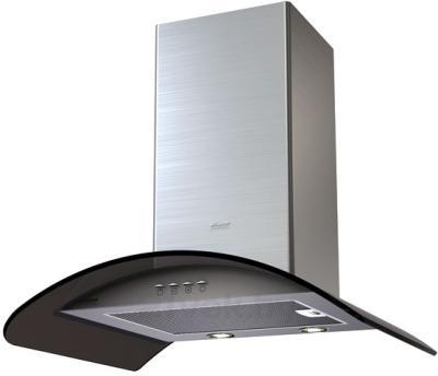 Вытяжка купольная KRONAsteel Sharlotta Electronic 600 (Inox Dark Glass) - общий вид